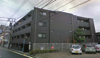 荻窪駅から徒歩7分、広めの1Kマンションの外観
