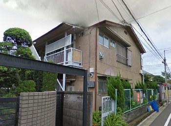荻窪駅から徒歩16分の2Kアパートの外観